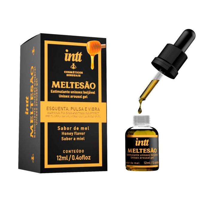 Meltesão - Excitante Unissex Sabor Mel
