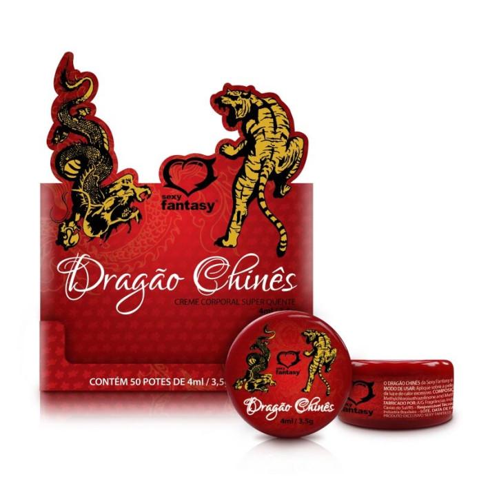 Dragão Chinês - Pomada oriental - Sexy Fantasy