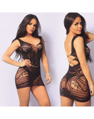 Mini Vestido Sexy - Candy - Yaffa