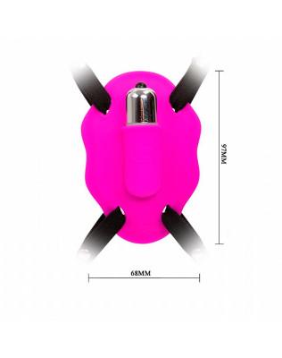 Calcinha Vibratória com Estimulador de Clitóris 12 Velocidades - Pretty Love