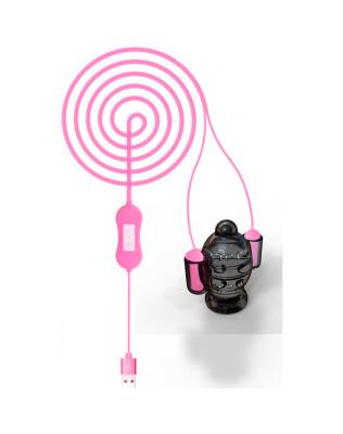 Estimulador Peniano com Eletrochoque e 20 Vibrações