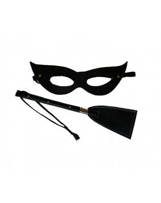 Kit da Tiazinha - Chibata 40cm + Máscara