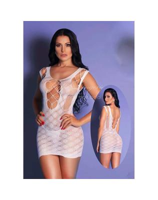 Mini Vestido com Abertura Frontal - Yaffa