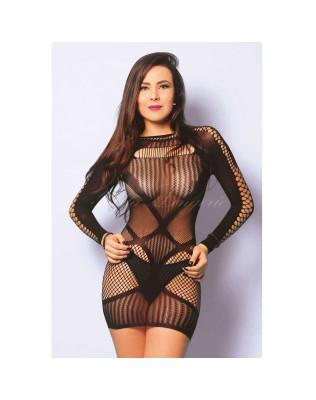 Mini Vestido Com Abertura Nos Braços - Yaffa