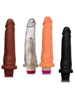 Pênis Realístico com Vibrador  - 18cm