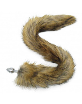 Plug Anal Em Metal Cauda - Fox Tail