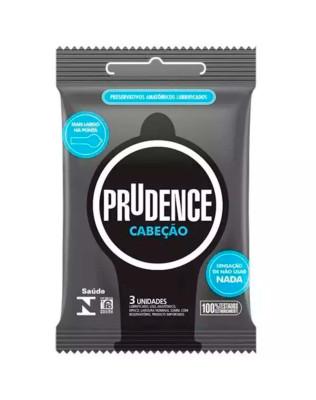 Preservativo Prudence - Cabeção - Mais Largo na Ponta