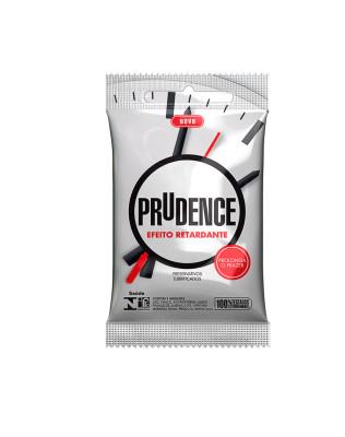 Preservativo Prudence - Efeito Retardante - 3Un